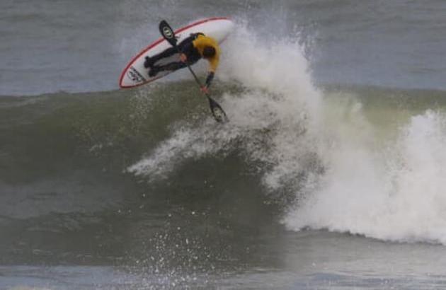 affiche coupe de france de wave ski