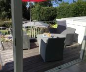 petit déjeuner Cormoran terrasse